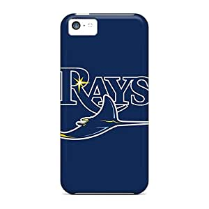 OhC1996GUXG Anti-scratch Case Cover LHolme Protective Baseball Tampa Bay Rays Case For Iphone 5c