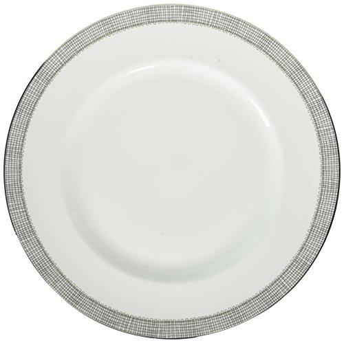 Wedgwood Gilded Weave Platinum Dinner Plate, 10.75