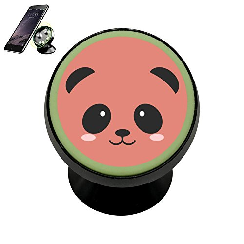 LIHHOLI Cute-Cartoon-Panda-Drawings-Clipart-Free-Clipart Vehicle Phone Mount Magnetic Mobile Phone Car Cradle Stand Dashboard Multi-Function Mounts Holder 360 Universal Noctilucent -