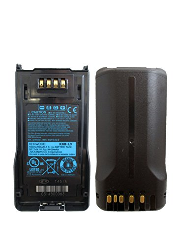 Kenwood KNB-L3 Orginal High Capacity Li-ion 3400mAh Battery for NX-5000 series NX-5200 NX-5300 NX-5400 by Kenwood