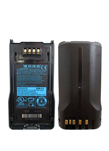 Kenwood KNB-L3 Orginal High Capacity Li-ion 3400mAh Battery for NX-5000 series NX-5200 NX-5300 ()