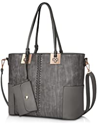 Womens Leather Tote Bags, oteawe Womens Purses and Handbags Casual  Crossbody Shoulder Bag ac4a109250