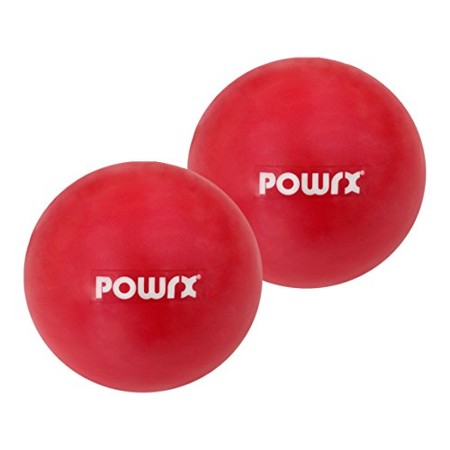 Pilates Toning Ball Paar (2 Stück) 1 kg Gymnastikball Medizinball Fit