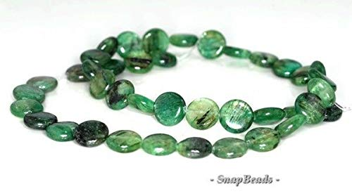 10MM Green KYANITE Gemstone Green Grade A Flat Round Circle 10MM Loose Beads 7