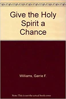 Give the Holy Spirit a Chance by Williams, Garrie F. (1993)