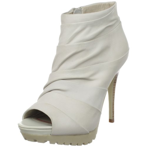 Miss Sixty Womens Jaiden 3 Open-Toe Ankle Boot Bone QgLt3A