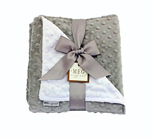 MEG Original Minky Dot Baby Blanket