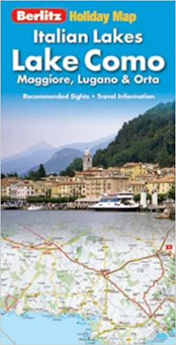 Lake Como Berlitz Holiday Map (Berlitz Holiday Maps): Amazon ...