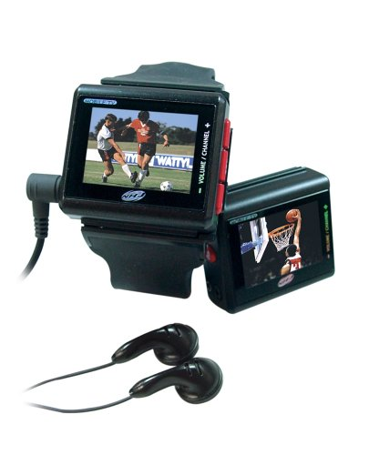 NHJ VTV 201 Black TV Watch 15 TFT Monitor
