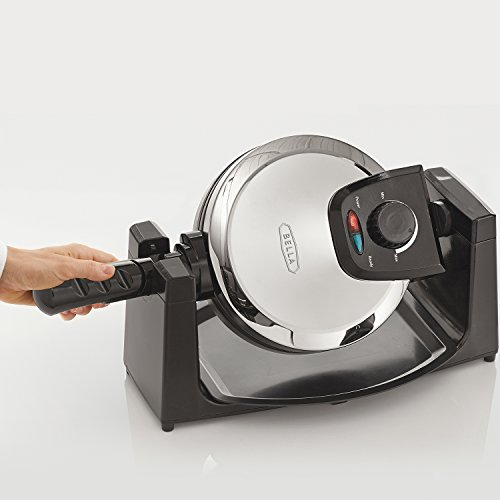 BELLA 13991 Classic Rotating Belgian Waffle Maker, Polished Stainless Steel by BELLA (Image #4)