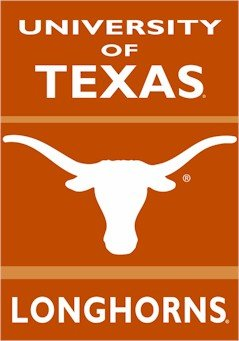 Flags Unlimited Texas Longhorns Banner Polyester 28 in. x...