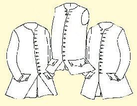 1750's - 1770's Waistcoat Pattern (48