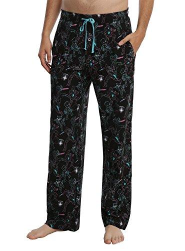 Galaxy Pajama Pants (Mad Engine Marvel Guardians Of The Galaxy Vol. 2 Neon Guardians Print Guys Pajama Pants (XL 40-42))
