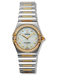 Omega Women's 1376.71.00 Constellation My Choice Gold-Plated Diamond Accented Watch