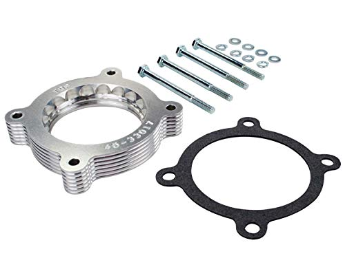 (aFe Power Silver Bullet 46-33017 Ford Throttle Body Spacer)