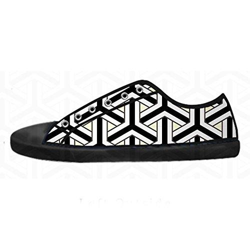 Custom Freccia Schema Womens Canvas Shoes I Lacci delle Scarpe Scarpe Scarpe da Ginnastica Alto Tetto