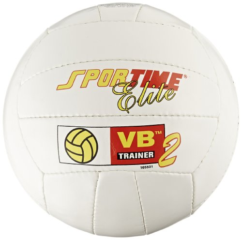 Sportime VB-Trainer II Elite - Traditional White Volleyball