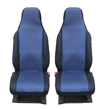 Sitzbezüge Schonbezüge Schonbezug 5er Sitze Neu Schwarz für Fiat Ford Peugeot