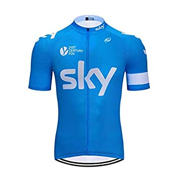 SUHINFE Mens Ciclismo Jersey Team Ciclismo Ropa Jersey Camisa de ...