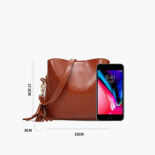 tracolla donna Handbags D Lady's Diagonal da tracolla a Borsa C Purse Borse donna a Tassel Fashion for da Women Aqxw015f