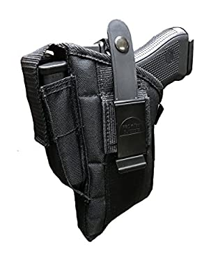 Fits Gun With Laser for Smith & Wesson M&p Sigma 9mm 40 V Side Holster Glock 17,19,22,31,33,23,32,25,38. Beretta Storm Px4 , Type F : 9mm, .40