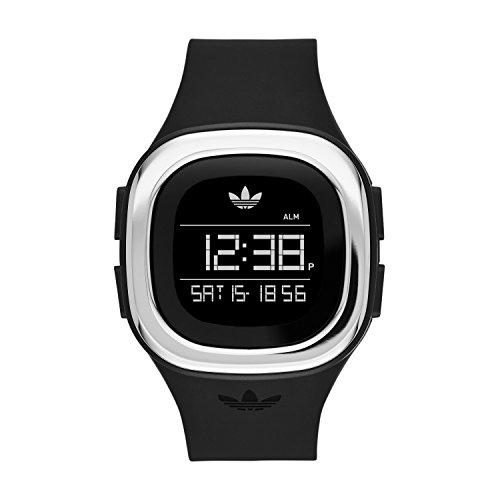 adidas Unisex ADH3033 Denver Digital Display Analog Quartz Black Watch - Adidas Watches For Men