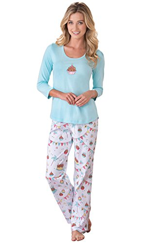 PajamaGram Birthday Gifts for Women - Birthday Shirts for Women, Multi, M, 8-10