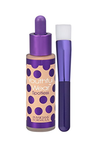 Physicians Formula Youthful Wear Cosmeceutical Youth-Boosting Spotless Foundation SPF 15, Medium, 1 Ounce