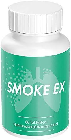 Smoke Ex - mit Natürlichen Wirkstoffen | Endlich Nichtraucher - Rauchen aufhören | 60 Tabletten für Männer und Frauen (1)