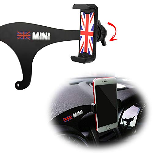 Red /& Blue Union Jack UK Flag Style KEENICI Car Smartphone Cell Phone Mount Holder for BMW Mini F60 Cooper Countryman with Cradle Rotatable Clip 4351531206