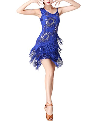 Whitewed The Great Gatsby's Halloween Latin Salsa Dance Party Goers Attire Costumes Dress -
