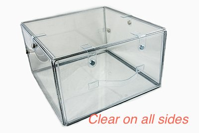 Attrayant Invisibox The Clear Storage Solution For Hat Boxes, Shoe Boxes And  Transparent Plastic Boxes For
