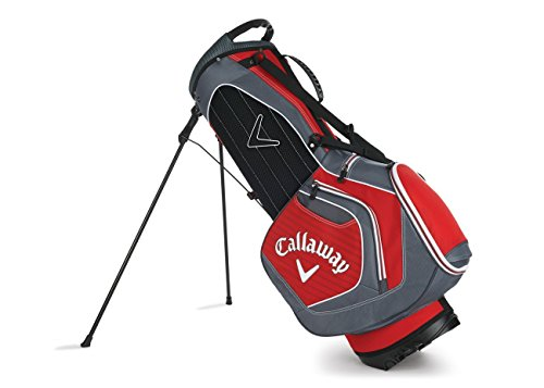 Callaway Chev Stand Golf Bag, Red/Charcoal/White (Callaway Chev Stand Bag compare prices)