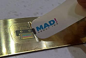 Madaboutink Transparente Calcomanía Impresión Papel para Impresoras Láser y Copiadoras 5 X A4 Láminas