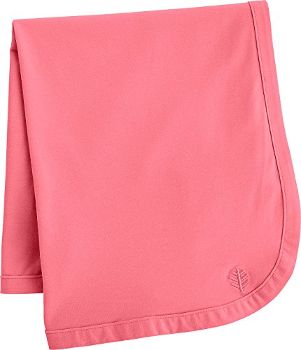 Coolibar UPF 50+ Baby Sun Blanket - Sun Protective (One Size- Hibiscus Pink)