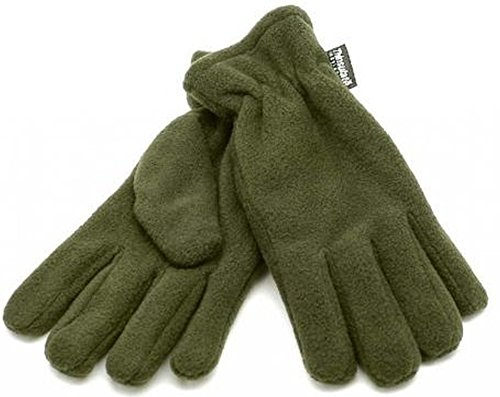 Xxl Olive en Thinsulate Fleece muchos Warm colores S Gloves Soft Winter qwvnfPwz
