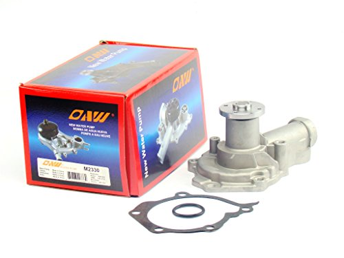 OAW M2330 Engine Water Pump for 01-05 Chrysler Sebring & Dodge Stratus, 02-05 Mitsubishi Eclipse, 99-03 Mitsubishi Galant 2.4L