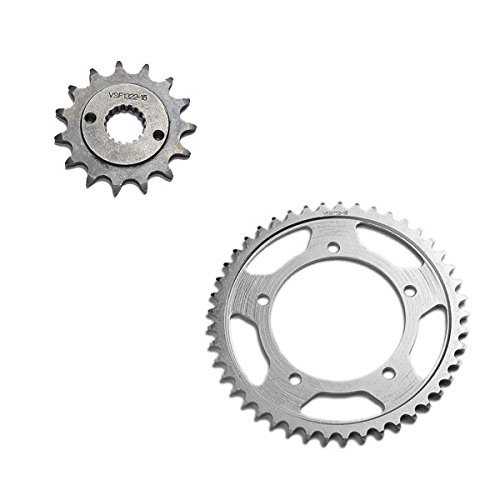 1985-2003 Honda XR80R Front and Rear Sprockets Set ()