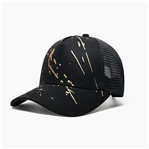 CattleBie Men Or Women General Purpose Tourism Mountaineering Mesh Breathable Quick Drying Baseball Cap Korean Version Fashion Hip Hop Street Duck Tongue Hat Outdoor Motion Sunscreen Leisure Wild Shad