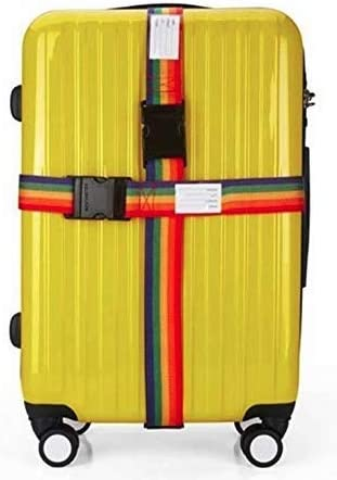 valise ceinture 5*200 cm sangle de bagages Voyage Sangle valise r/églable -S/écurit/é et Identification De Votre Bagages PACK DE 2