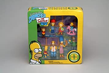 Ned Flanders Simpsons Figurines Series 1 Evergreen terrace