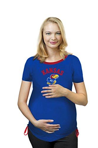Kansas jayhawks maternity wear jayhawks maternity wear for Funny kansas jayhawks t shirts