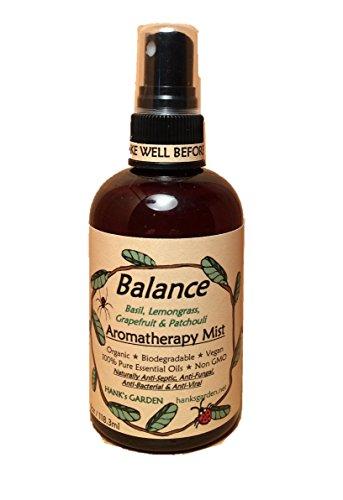 Equilibrio Aromaterapia cuerpo y habitación Spray Mist–Eco Friendly de la Tierra, vegano orgánico, natural,...