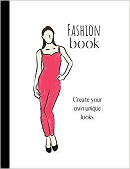 Buy Fashion Book Large Clothes Sketch Book Planner 100 Pages Organiser White Paper Notebook Teens Students Blogger Vlogger Artist Designer Book Online At Low Prices In India Fashion Book Large Clothes