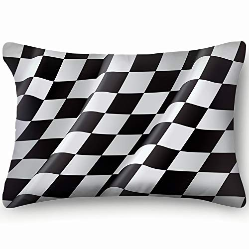 Checkered Flag Flag Illustrations Clip Art Flag Illustrations Clip Art Home Decor Wedding Gift Engagement Present Housewarming Gift Cushion Cover 20x30 inch