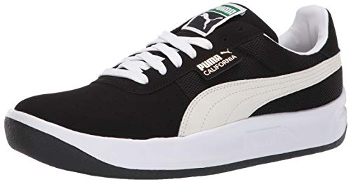 PUMA California Shoe, Black White, 10 M ()