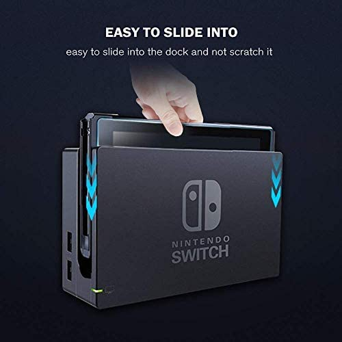 SEVENGO 2PACK Nintendo Switch Screen Protector, Tempered Glass Screen Protector for Nintendo Switch, Protective Glass Saver Protection for Switch - Shatter-Proof Anti-Scratch 9H Hardness Bubble Free