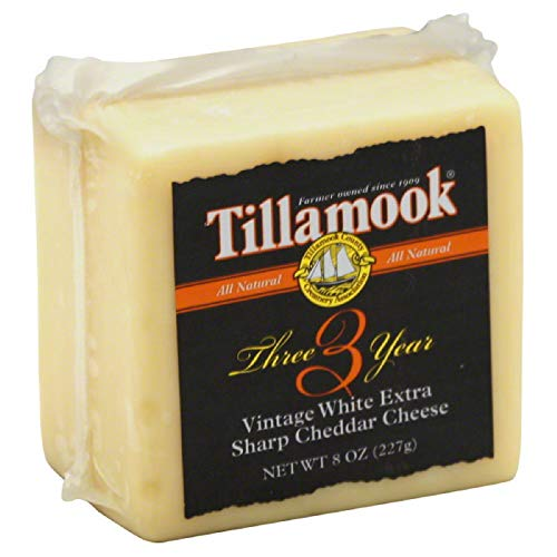 Tillamook (NOT A CASE) 3 Year Vintage Extra Sharp White Cheddar Cheese
