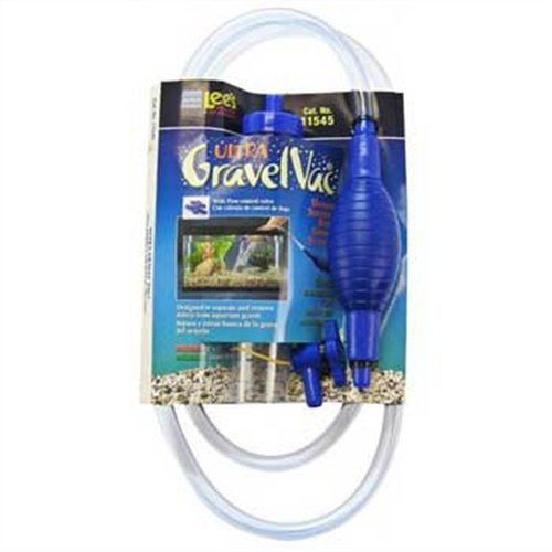 Lee's Squeeze Bulb Ultra Gravel Vac w On/Off Valve by Lee's