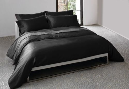 4 Pieces Sheet Set Queen Black
